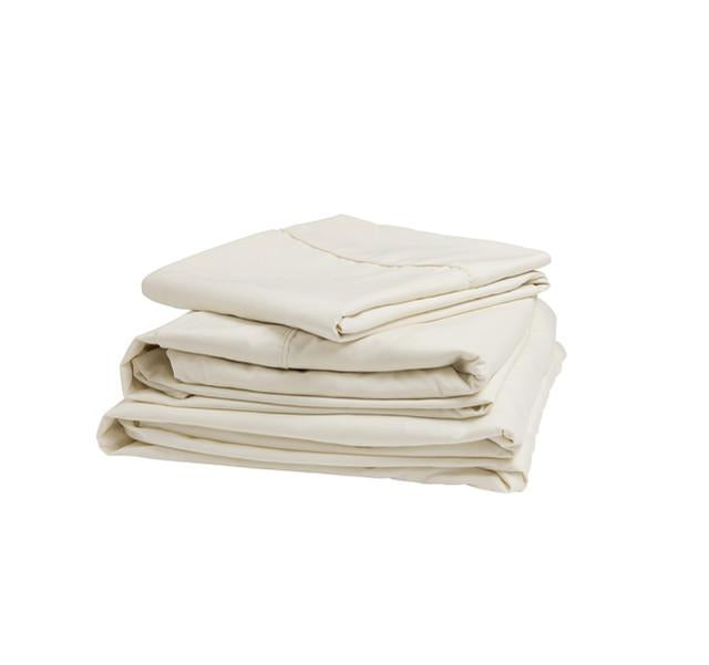Ivory Microfiber Sheet Set - Short Queen 343515