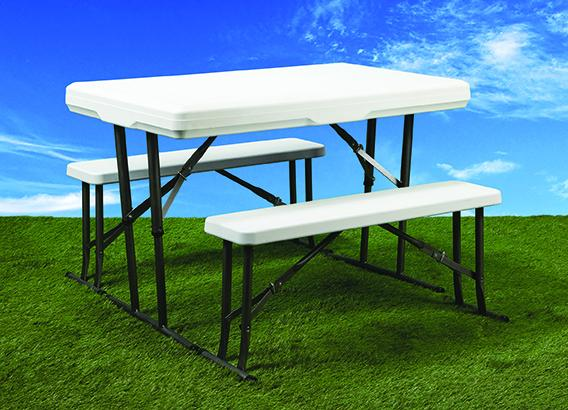 Faulkner Picnic Table White