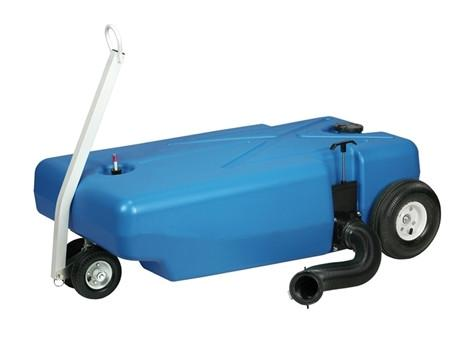 4 Wheeler Tote-Along Portable Holding Tank - 42 Gallon - 30844