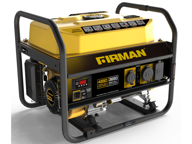 Firman 5700 Watt Portable Generator with Wheels