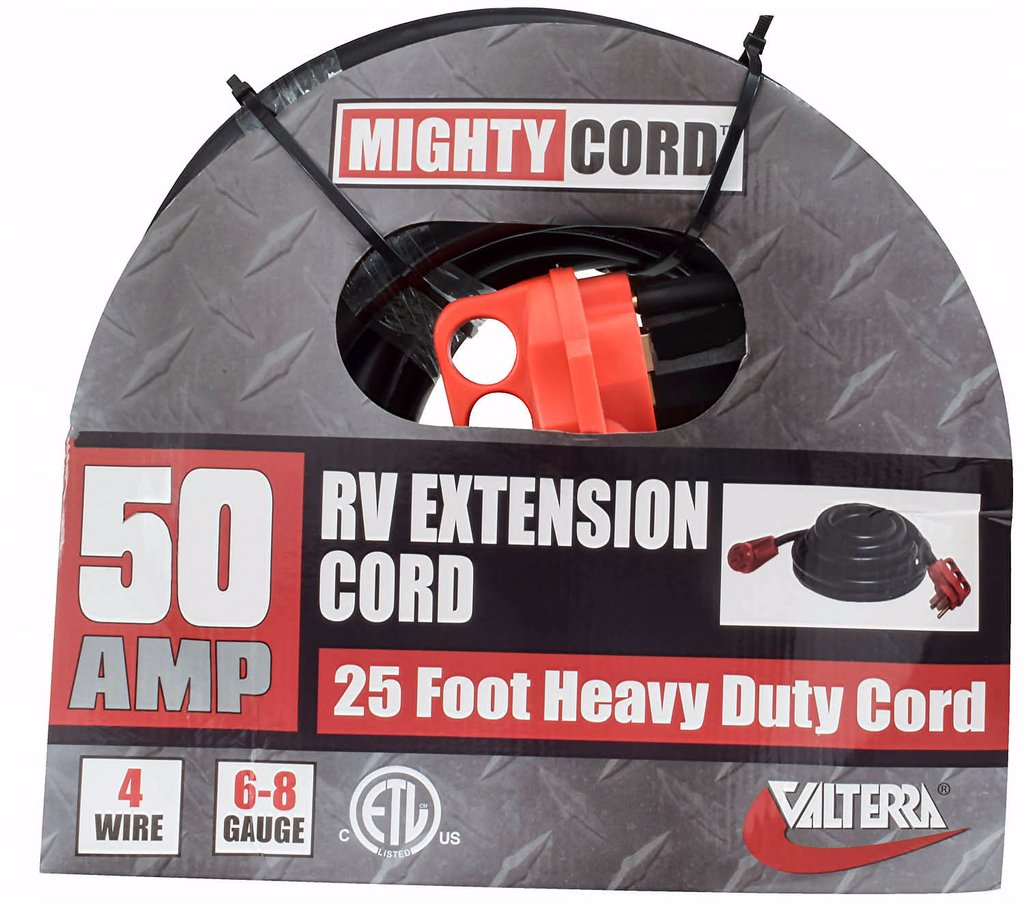 RV Extension Cord - 50 Amp 25 foot