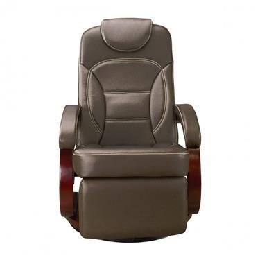 Euro Recliner Chair - Chestnut