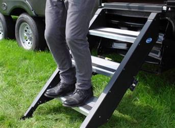 "32"" MorRyde Fold Up RV Step 4 Step - STP-4-32-04H"