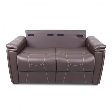 "Thomas Payne Tri-Fold Sofa - Majestic Chocolate - 59.5"" W"