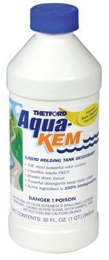 Aqua-Kem Black Water Treatment - Quart Container