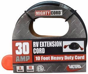 RV Extension Cord 30 Amp with Handle, 10 foot