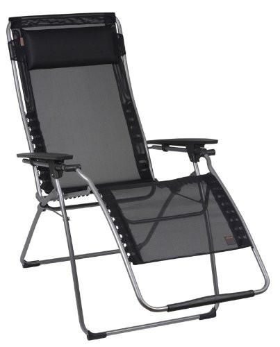 Laguna Recliner Padded - Gray/Black XL