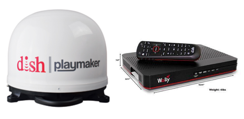 Winegard Playmaker RV Satellite with DISH Bundle Package