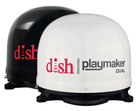 RV Winegard Playmaker Dual - White Dome PL-8000
