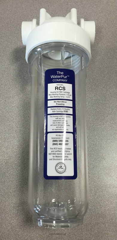 Replacement Filter Housing FR1 Now RCS
