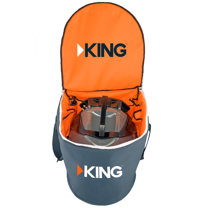 King - Portable Satellite Antenna Carry Bag
