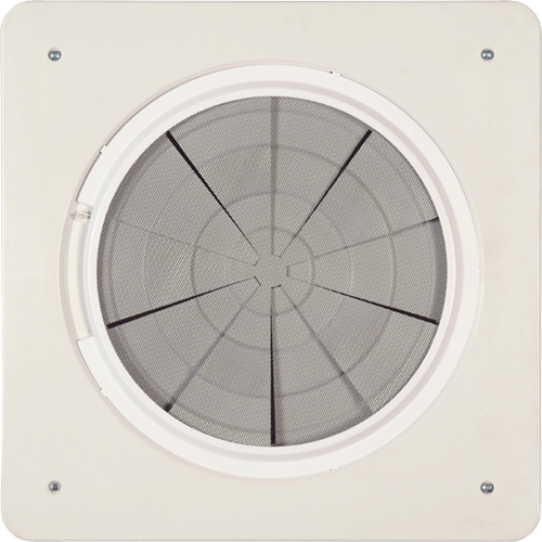 "Maxxair Mini Vent - 6"" Powered - White"