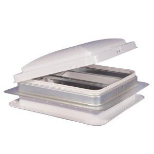 "RV Roof Vent 14"" x 14"" - White"