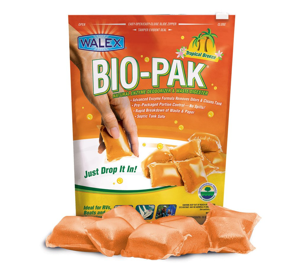 Bio-Pak Tropical Black Water Drop Ins - 10 Per Bag