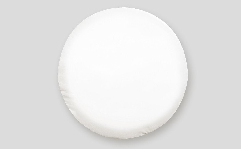 "Tire Cover - ""J"" - Polar White - 27"" #1757"