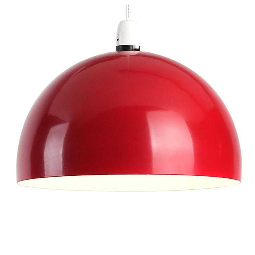 Curva Non Electric Pendant Red