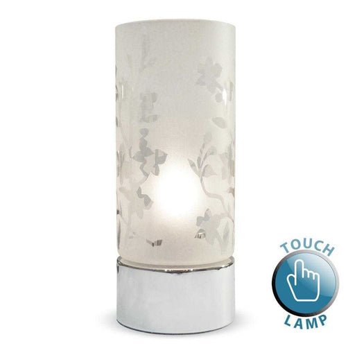 Florette Cylinder Touch Table Lamp