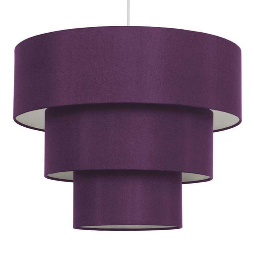 Vermont 3 Tiered NE Pendant Purple