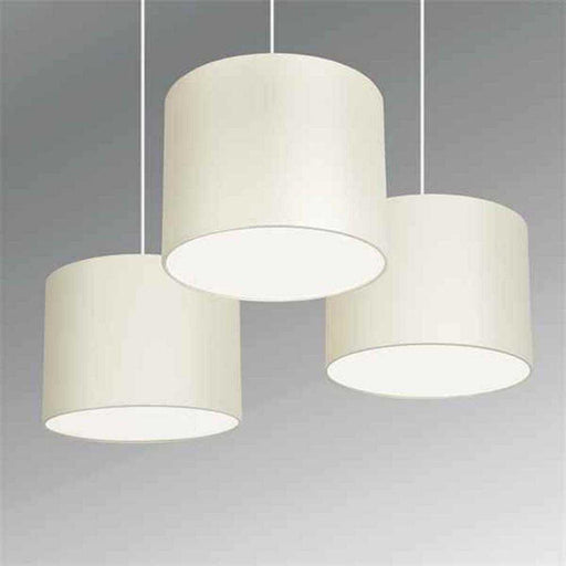 Set Of 3 Torbery Nesting NE Pendants With Diffusers Cream