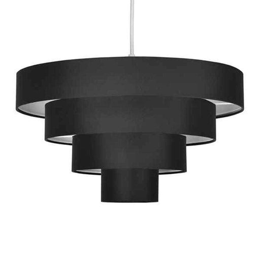 Nevada 4 Tiered NE Pendant Black