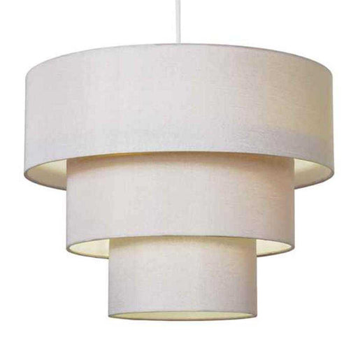 Vermont 3 Tiered NE Pendant Cream