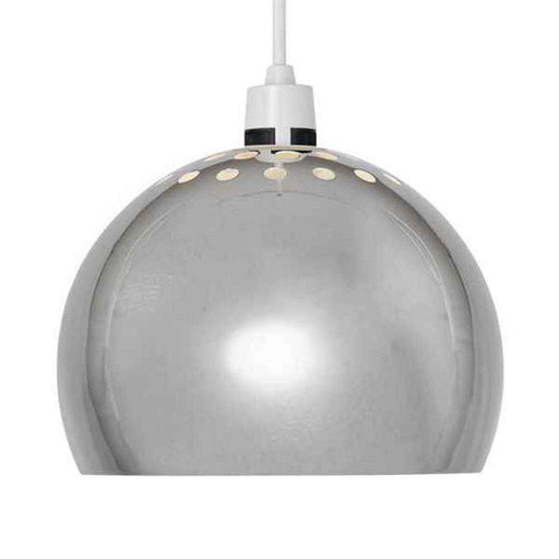 Mini Arco Metal NE Pendant Shade Chrome