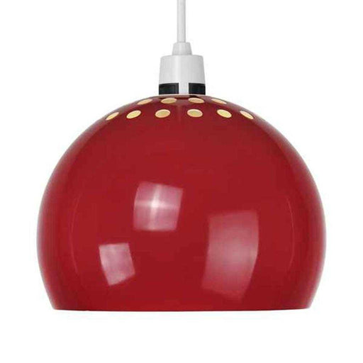 Minisun Trade Mini Arco Metal NE Pendant Shade Gloss Red 16119