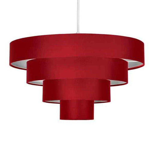 Nevada 4 Tiered NE Pendant Red