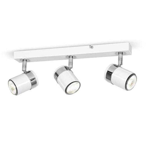 Rosie 3 Way Straight Bar Spot Light White