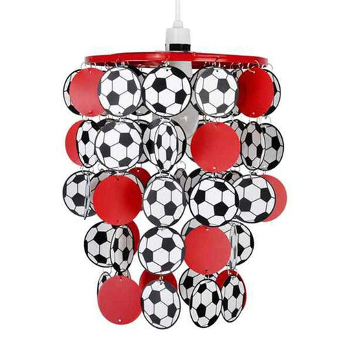 Football Droplet NE Pendant Shade Red