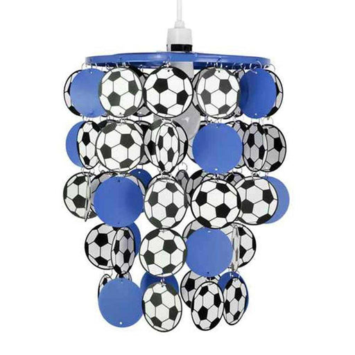 Football Droplet NE Pendant Shade Blue