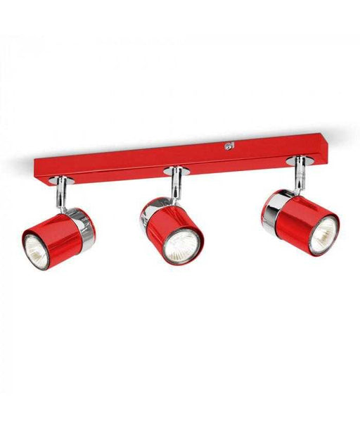 Rosie 3 Way Straight Bar Spot Light Red