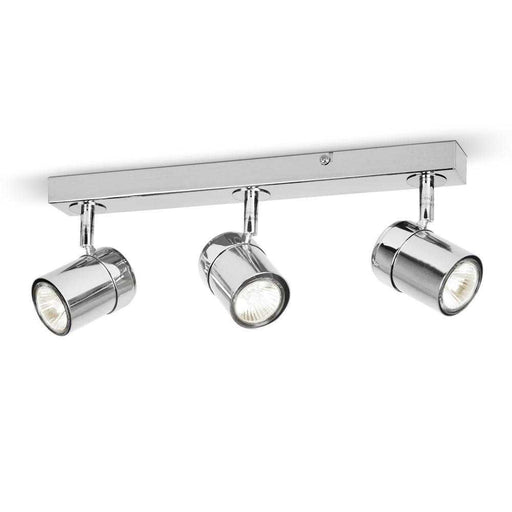 Rosie 3 Way Straight Bar Spot Light Chrome