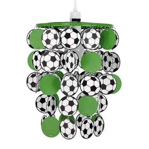 Football Droplet NE Pendant Shade Green