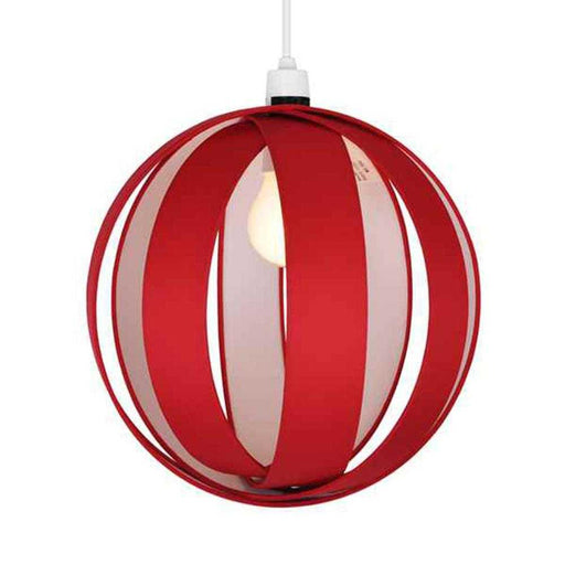J90 Non Electric Pendant Shade Red