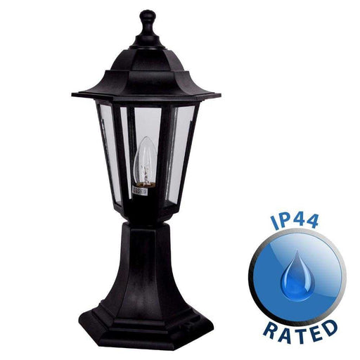 Mayfair IP44 Outdoor Post Top Lantern Light Polypropylene
