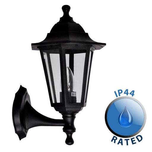 Mayfair IP44 Outdoor Up / Down Wall Lantern Polypropylene
