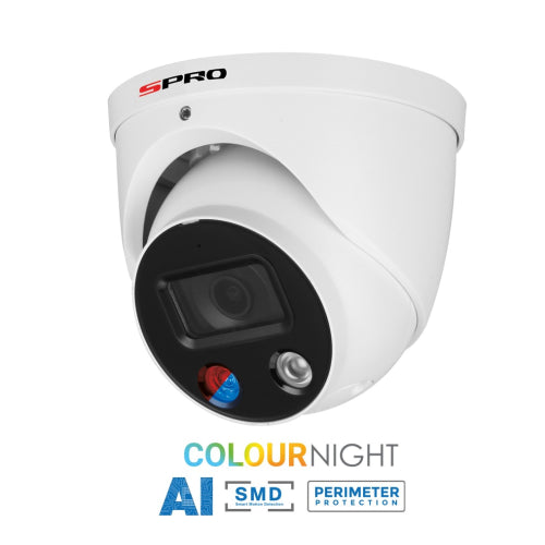 SPRO 5MP IP Active Deterrence Camera