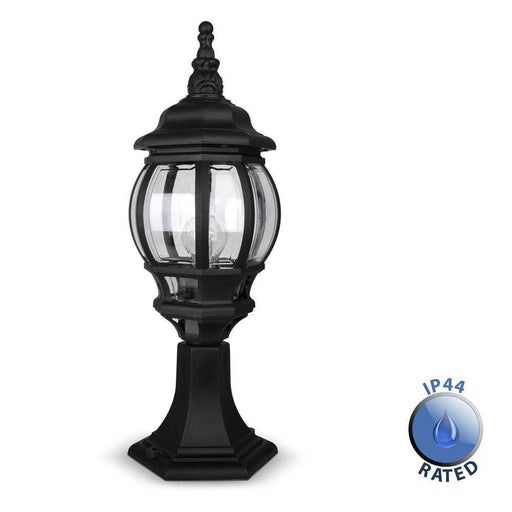 IP44 Windsor Outdoor Post Top Lantern Light Polypropylene