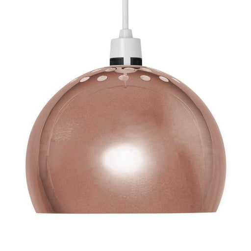 Mini Arco Metal NE Pendant Shade Copper