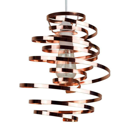 Bensson Twisted Non Electric Copper Pendant Shade