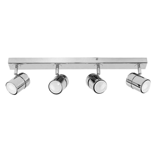 Rosie 4 Way Straight Bar Spot Light Chrome Chrome