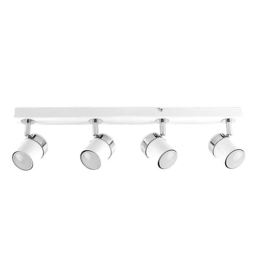 Rosie 4 Way Straight Bar Spot Light White Chrome