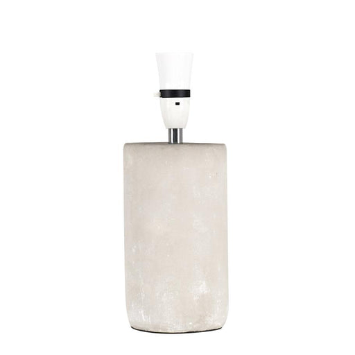 Austin Cement Tall Cylinder Table Lamp (BASE ONLY)