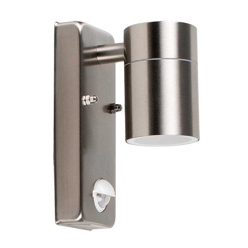 Barrow SS 50W GU10 PIR Down Light IP44  Wall Light