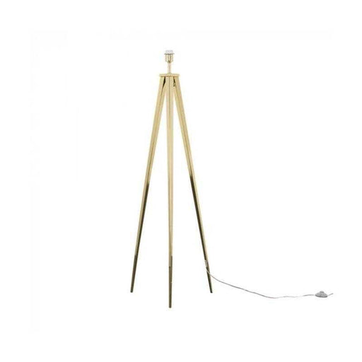 Nero Gold Tripod Floor Lamp (NO SHADE)