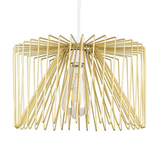 Amadeus Wire Non Electric Pendant Shade Gold