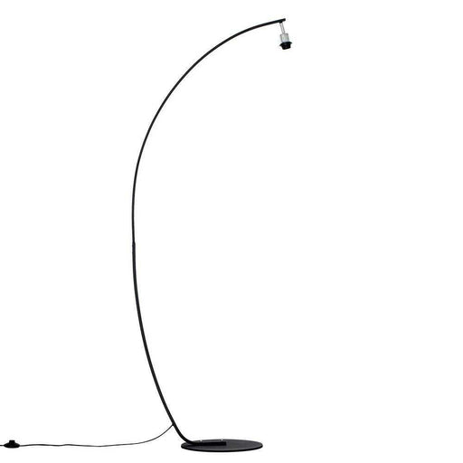 Rousse Large Curved Black Floor Lamp (NO SHADE)