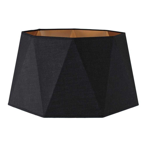 Toke Matt / Copper Black Geometric Floorlamp Shade