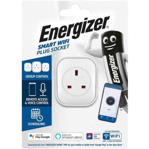 Energizer Smart WIFI Plug Socket